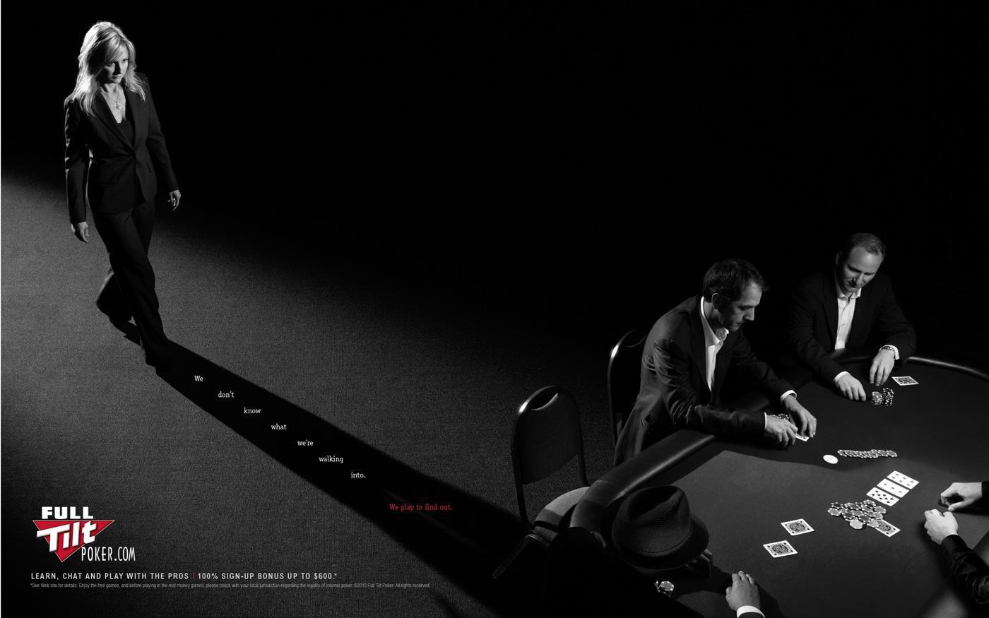 Full Tilt Poker Print Ad -  Walk