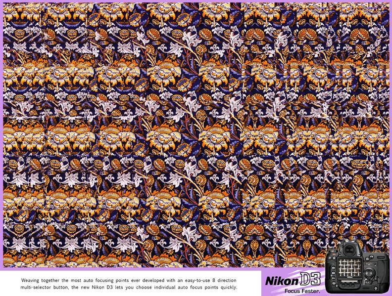 Autostereogram, Weave