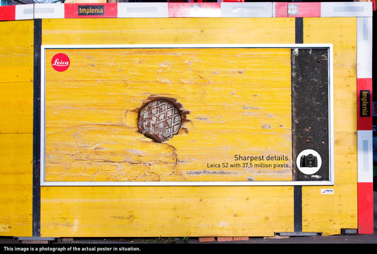 Leica Outdoor Ad -  Sharpest Details, Nail