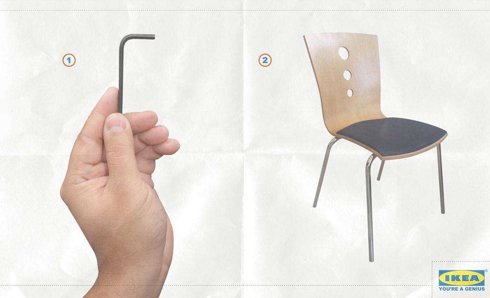 IKEA Print Ad -  Genius, 1