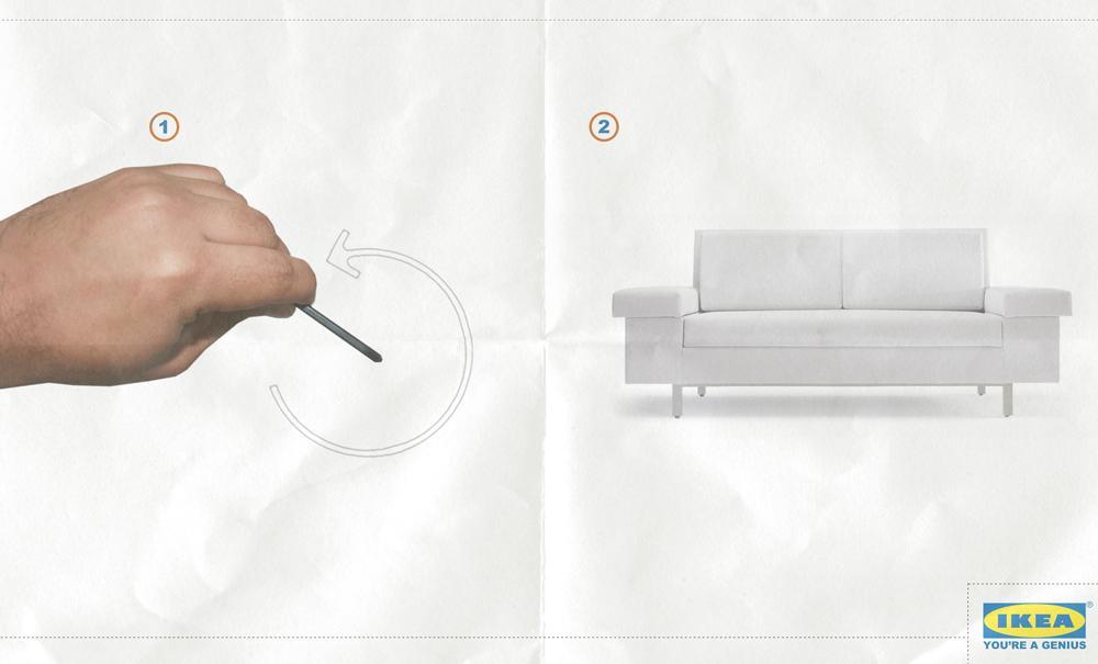 IKEA Print Ad -  Genius, 3