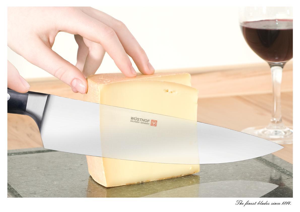 Wusthof Print Ad -  Cheese