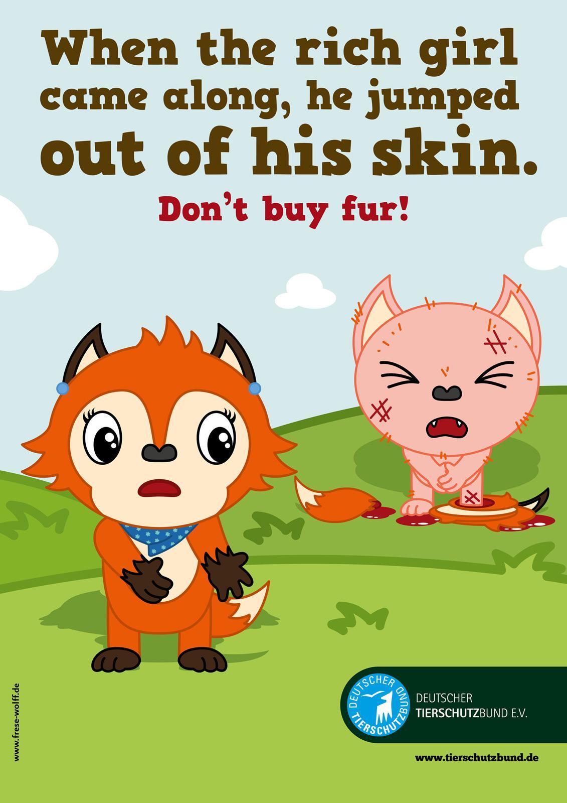 Deutscher Tierschutz Print Ad -  Fox