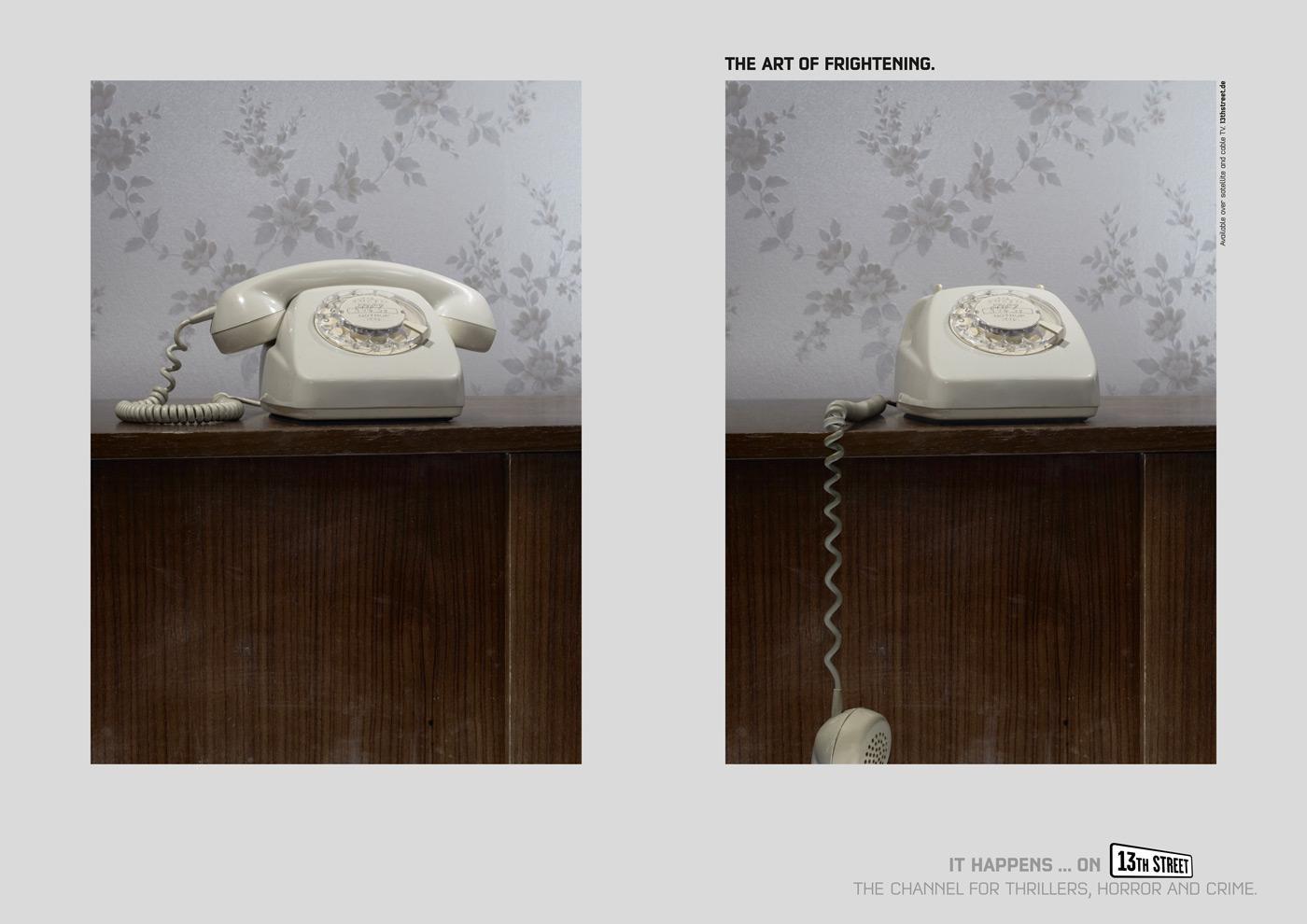 13th Street Print Ad -  Phone
