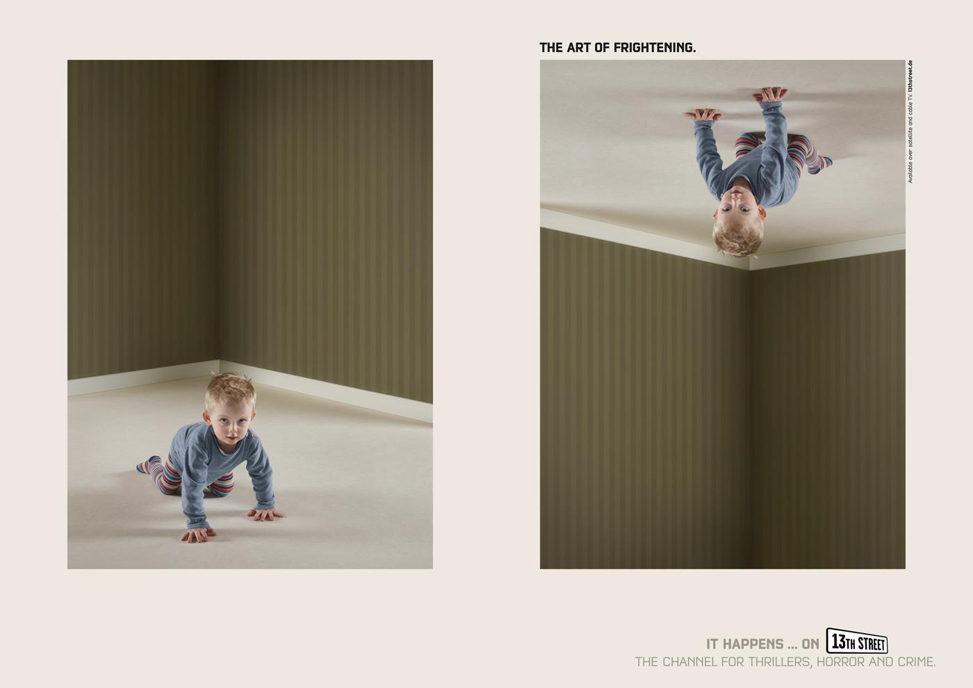 13th Street Print Ad -  Kid