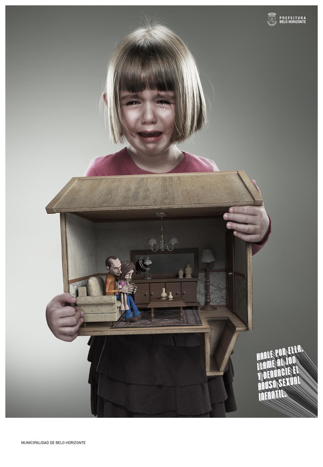 Prefeitura De Belo Horizonte Print Ad -  Speak For Her, 2