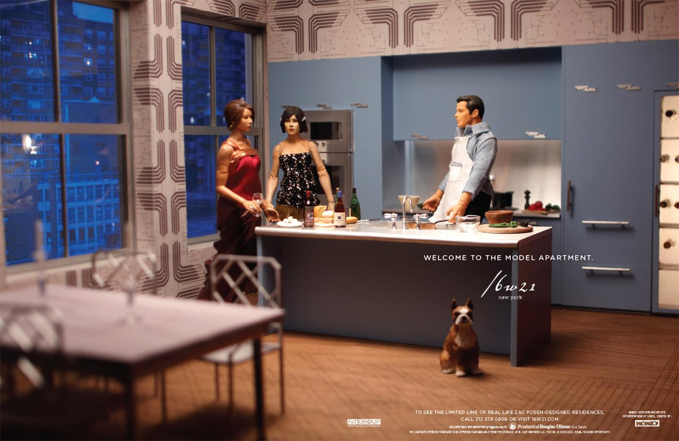 The Model Apartment Print Advert By Imagination Kitchen Ads Of - Kitchen ad
