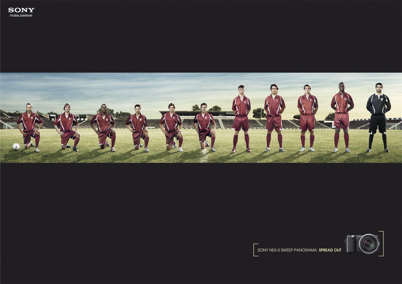 Sony Print Ad -  Team