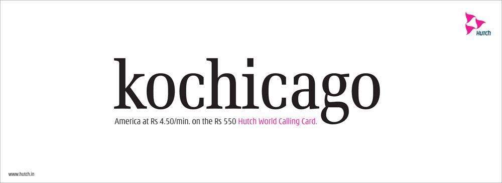 Kochin (India) - Chicago (US)