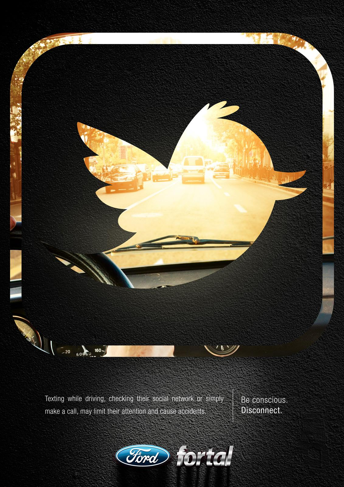 Ford Print Ad -  Twitter