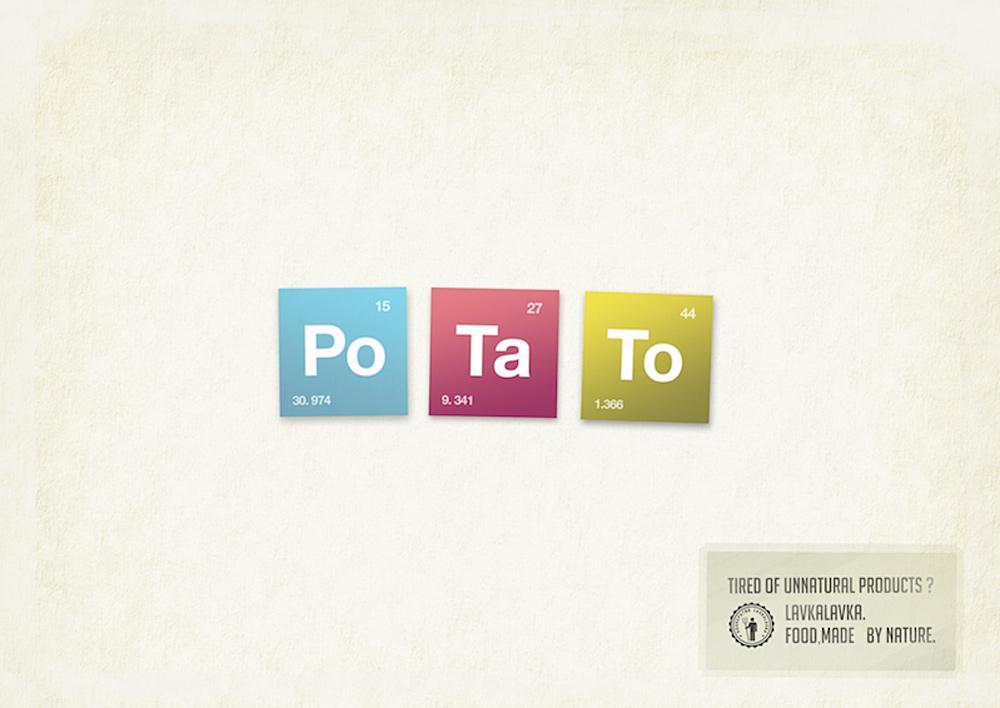 LavkaLavka Print Ad -  Potato