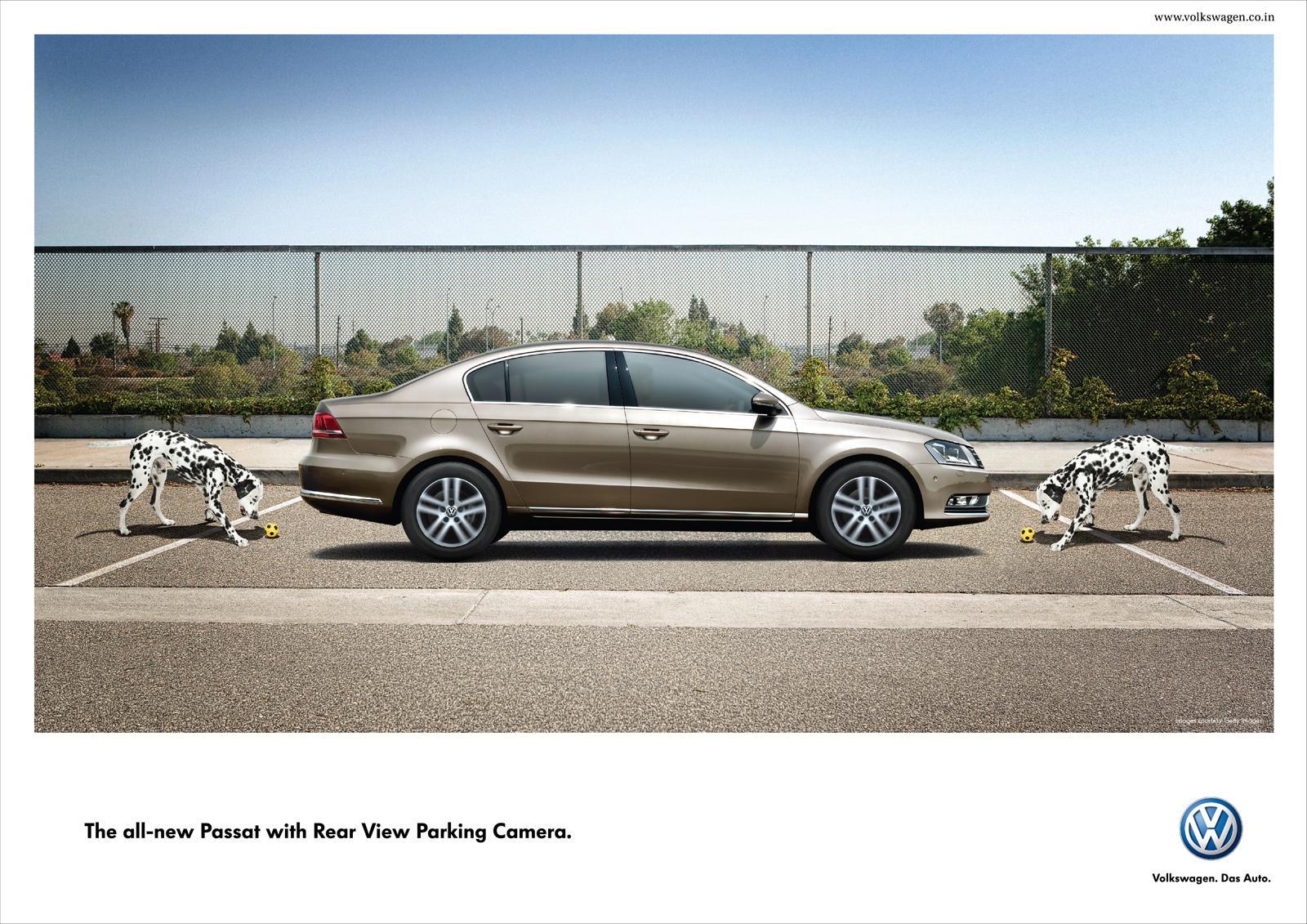 Volkswagen Print Ad -  Double, Dog