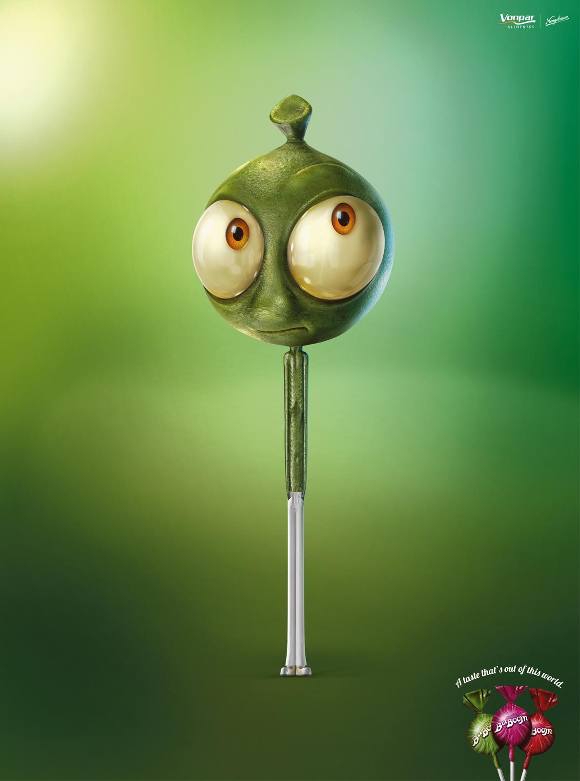 BaBoom Print Ad -  Alien