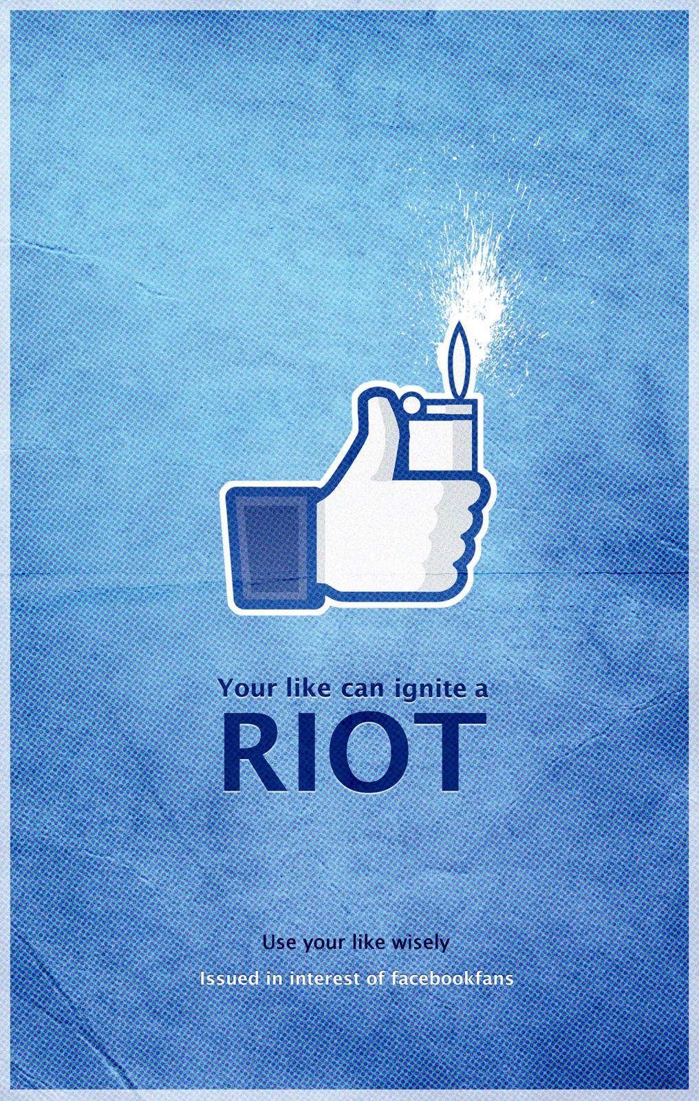 Facebook Print Ad -  Riot