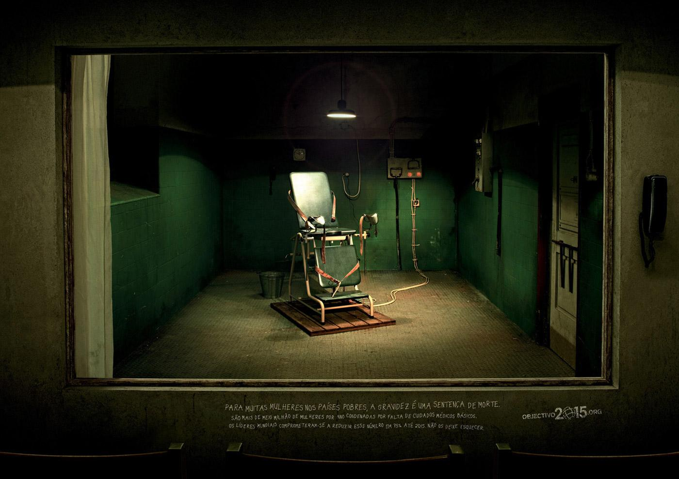 United Nations Print Ad -  Execution