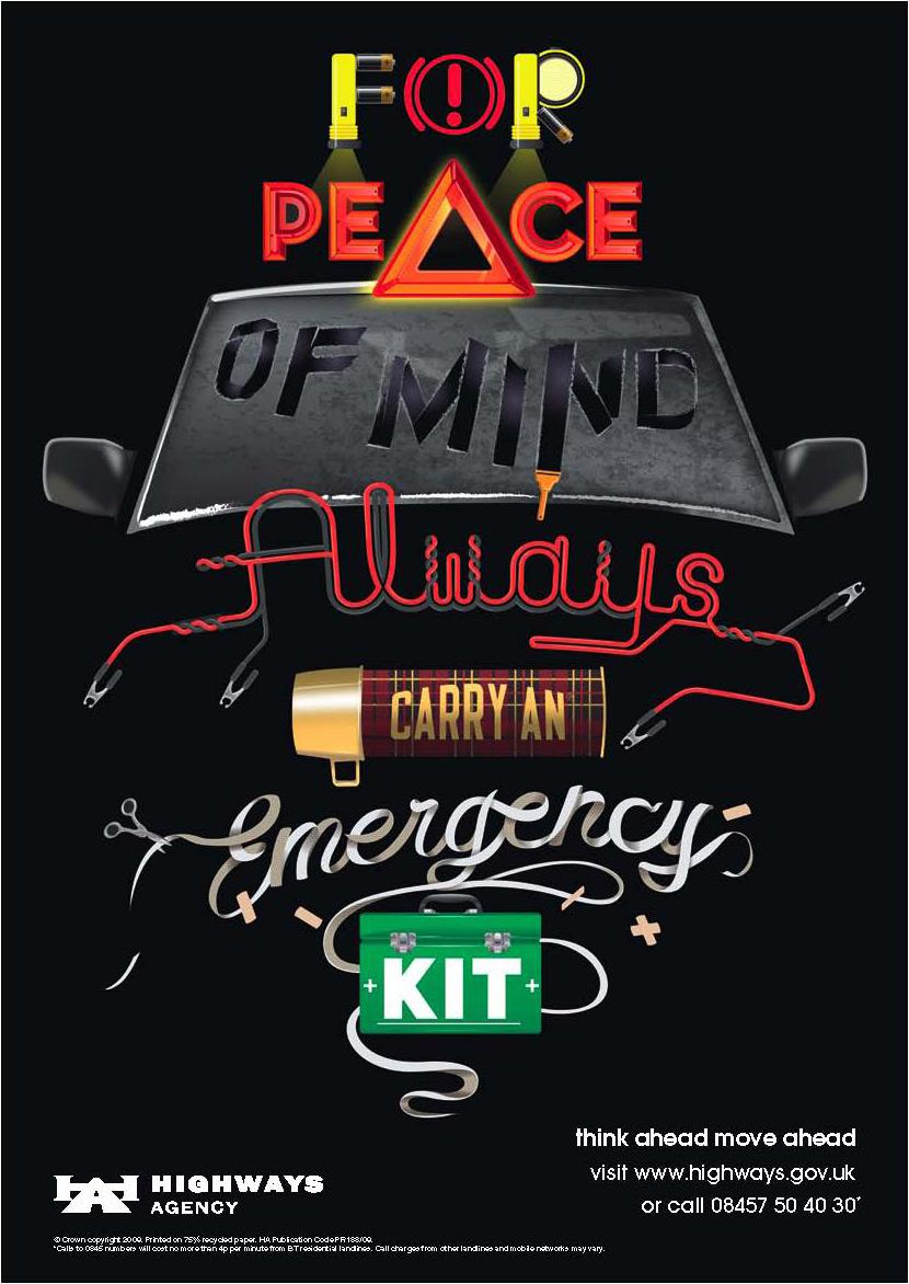 Highways Agency Print Ad -  Peace of mind