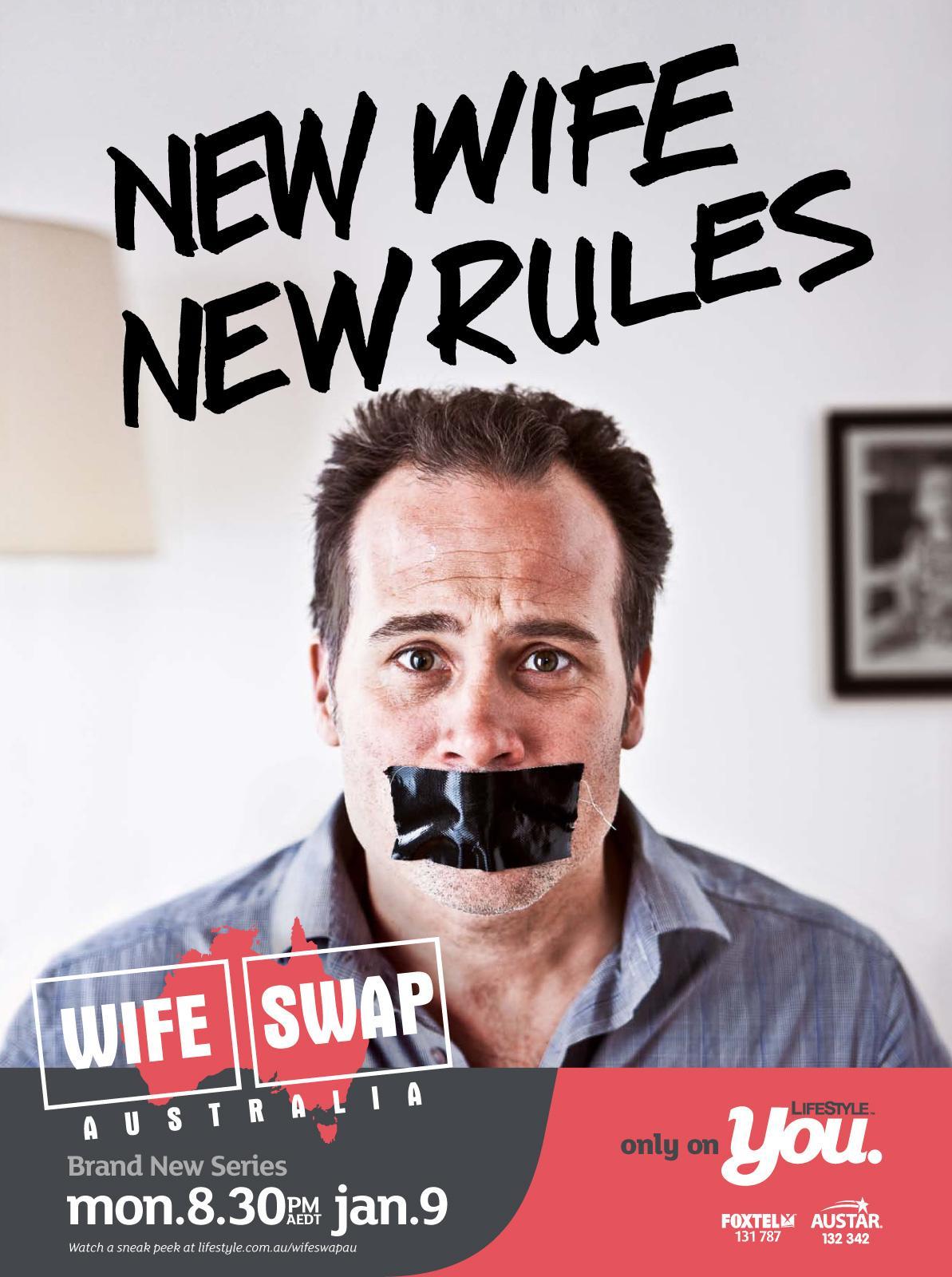 Wife Swap Print Ad -  Tape