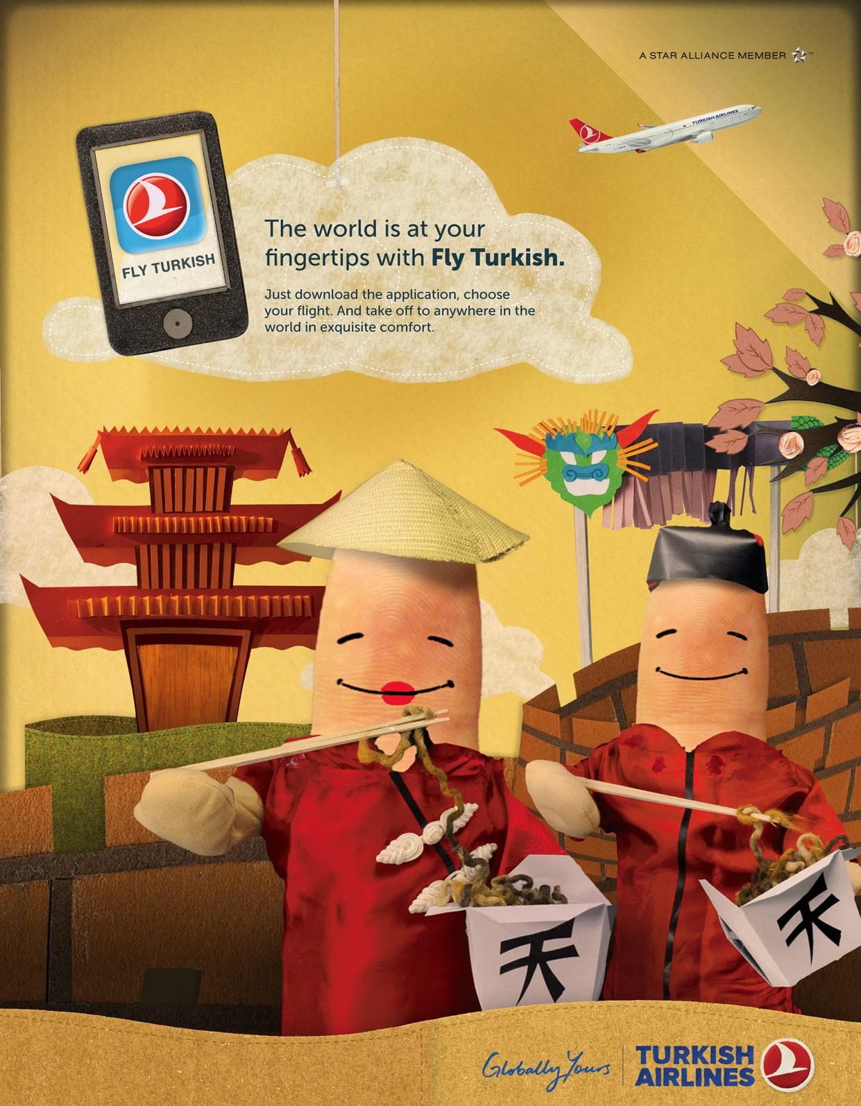 Turkish Airlines Print Ad -  Beijing
