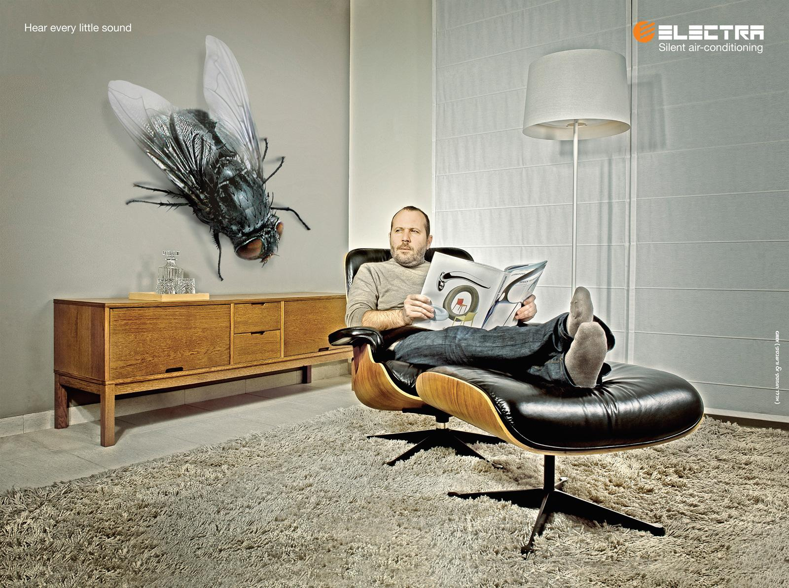 Electra Print Ad -  Fly