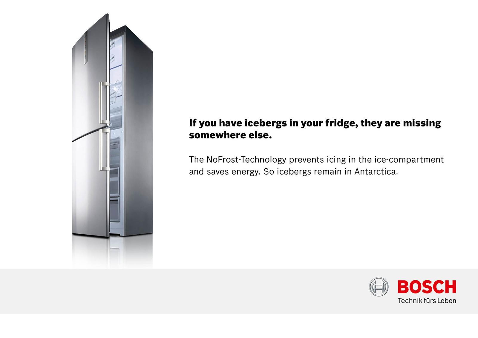 Bosch Print Ad -  Icebergs, 5