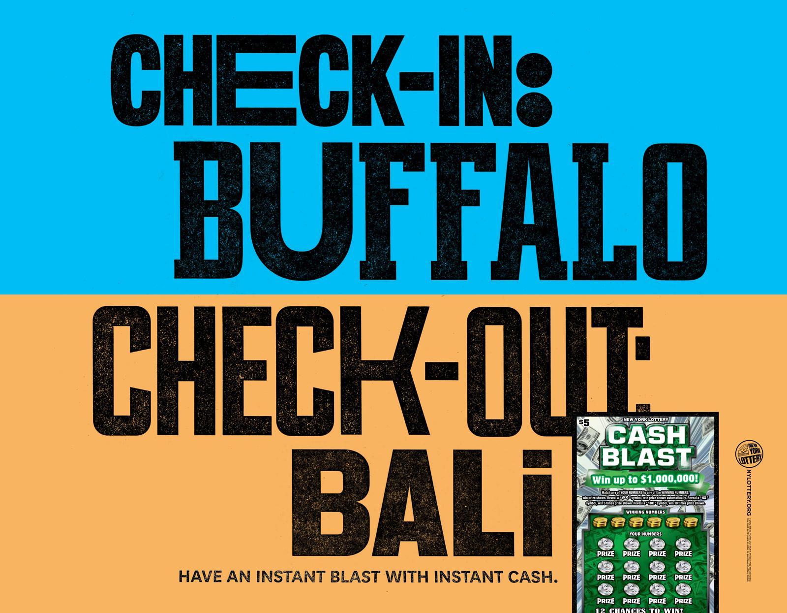 New York Lottery Print Ad -  Cash Blast, 4