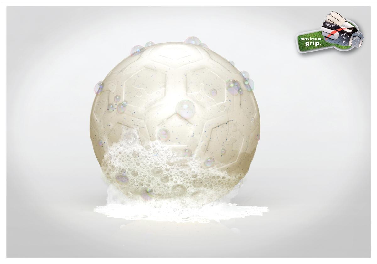 Golty Print Ad -  Soap