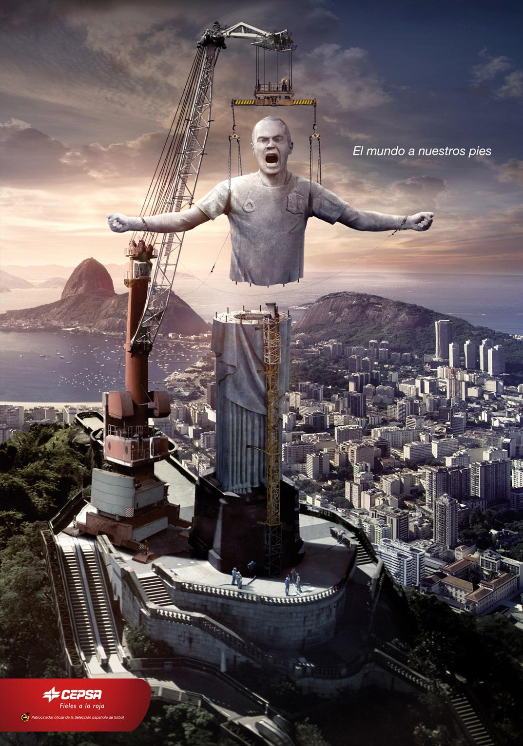 Cepsa Print Ad -  Rio