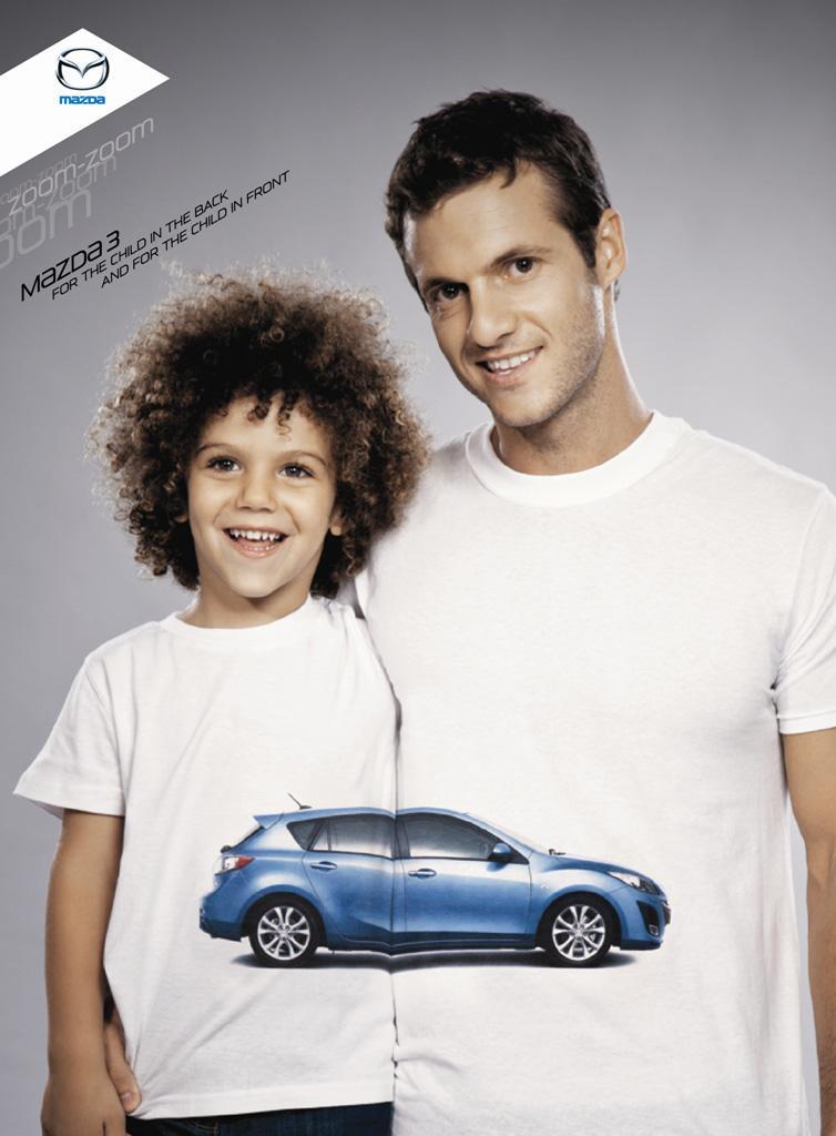 Mazda Print Ad -  Children, 2