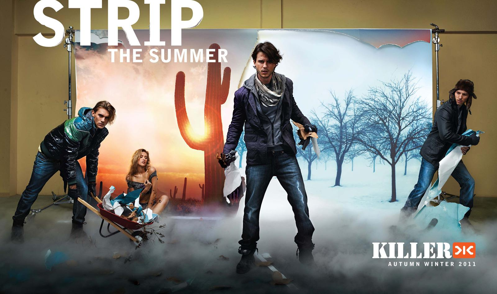 Killer Jeans Print Advert By Grey: Strip, 2 | Ads of the ...