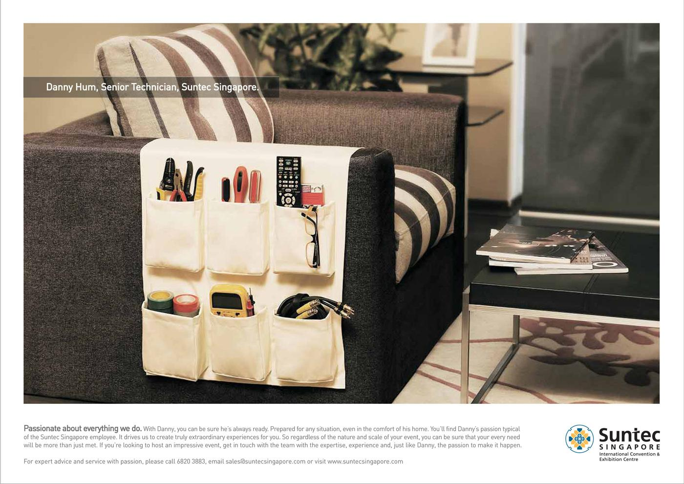 Suntec Print Ad -  Armchair