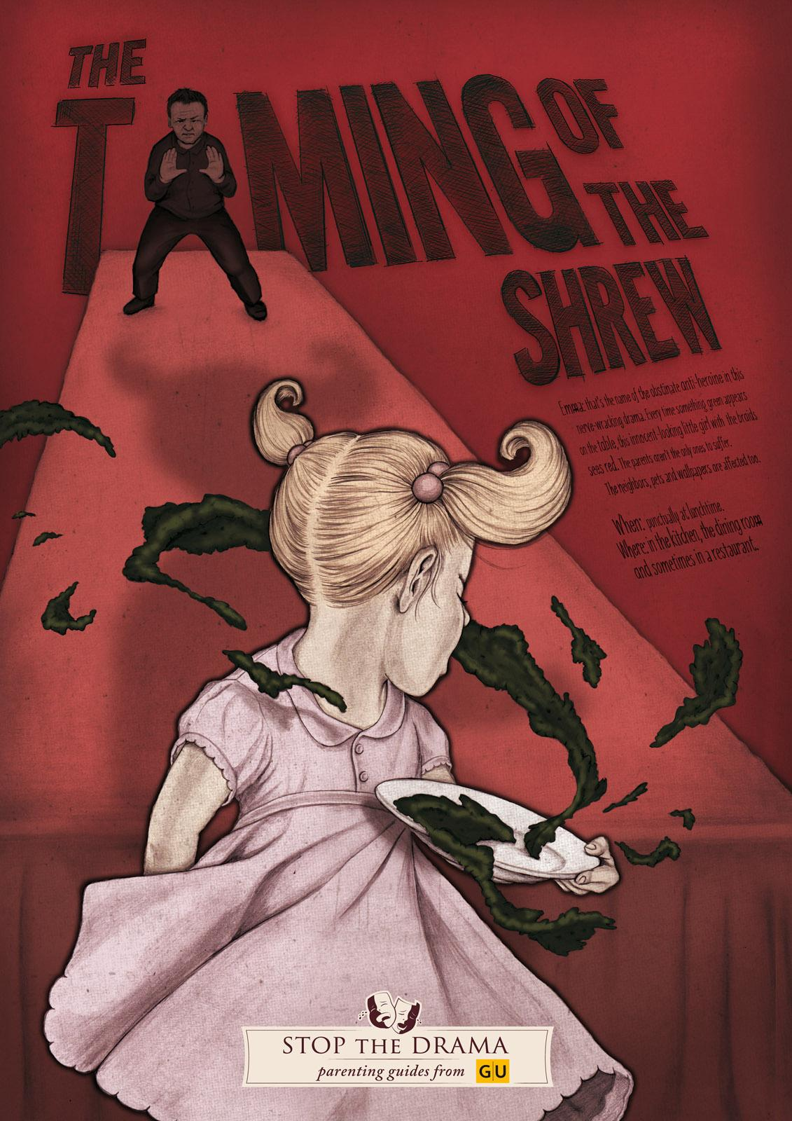 GU Publisher Outdoor Ad -  Stop the Drama, The Taming of the Shrew