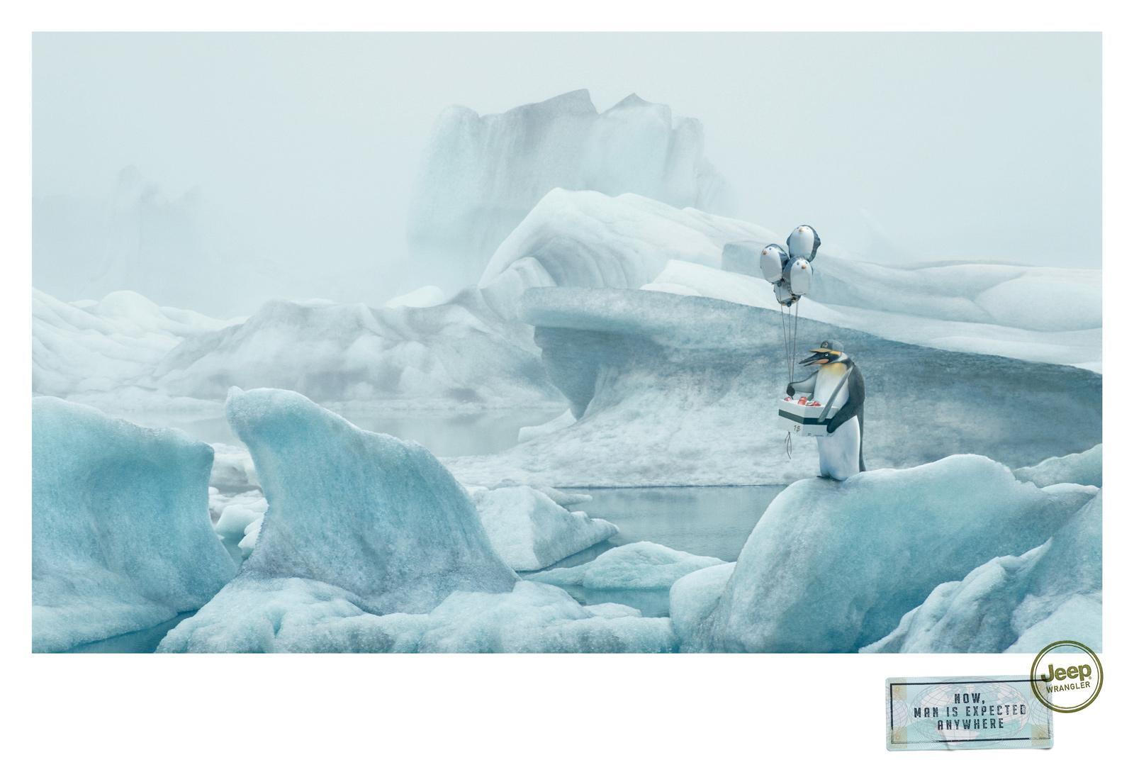Jeep Print Ad -  Penguin