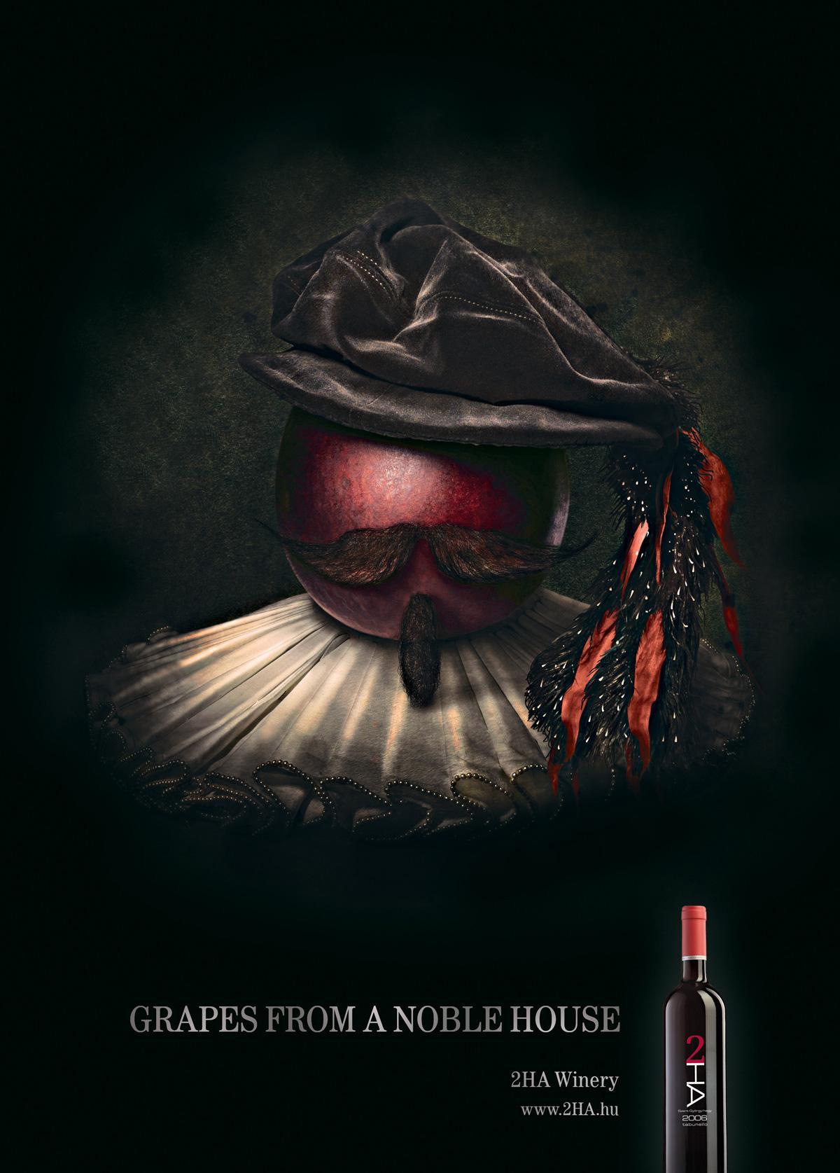 2HA Winery Print Ad -  Tabunello