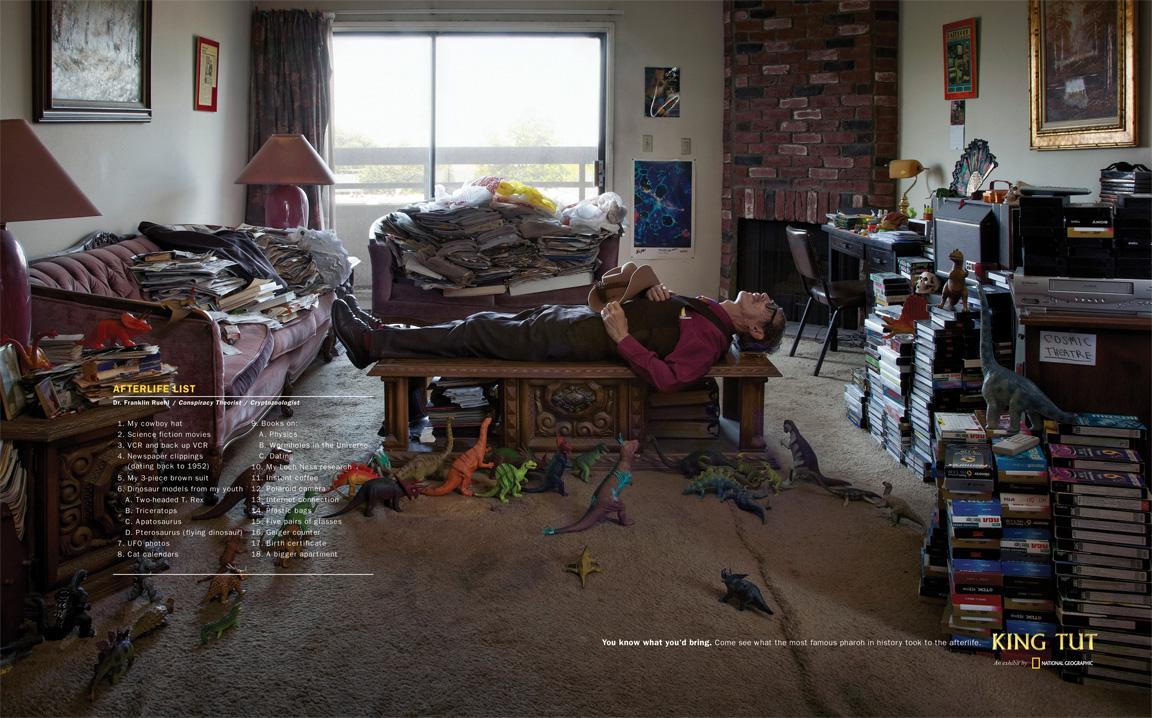National Geographic Print Ad -  Franklin