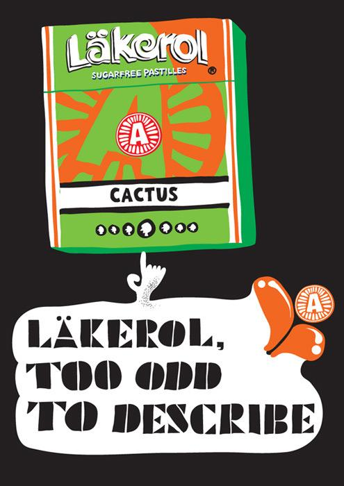 Lakerol Print Ad -  Too odd, 3