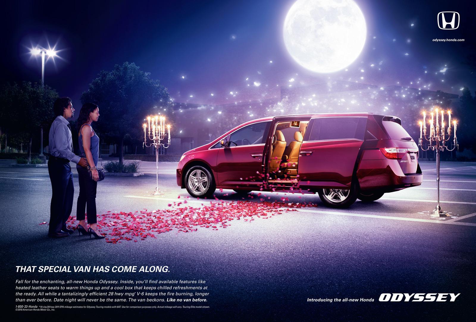 Honda Print Ad -  Romance