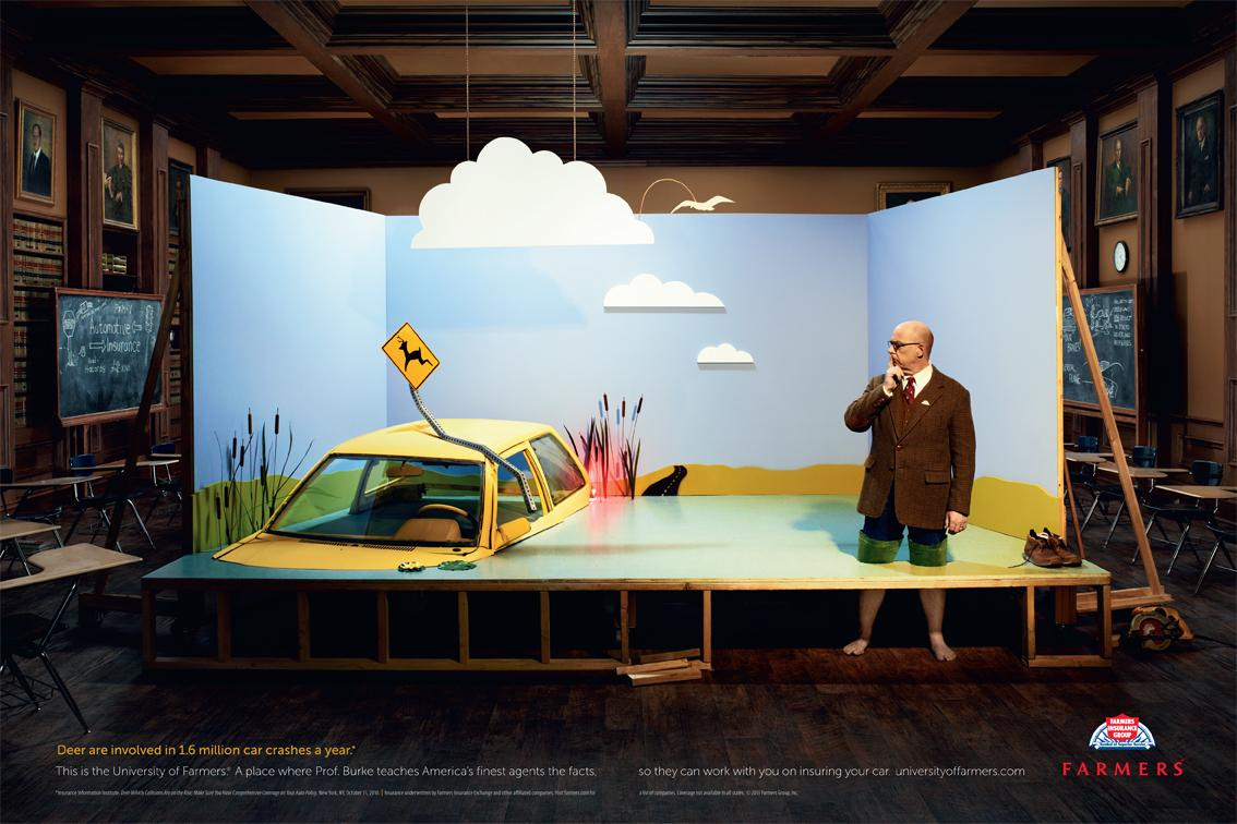 Farmers Insurance Print Advert By RPA: Dear Crashes | Ads ...