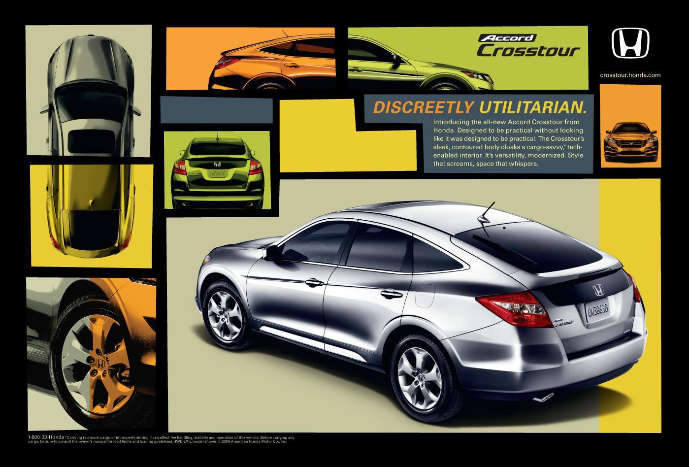 Honda Print Ad -  Discreetly utilitarian