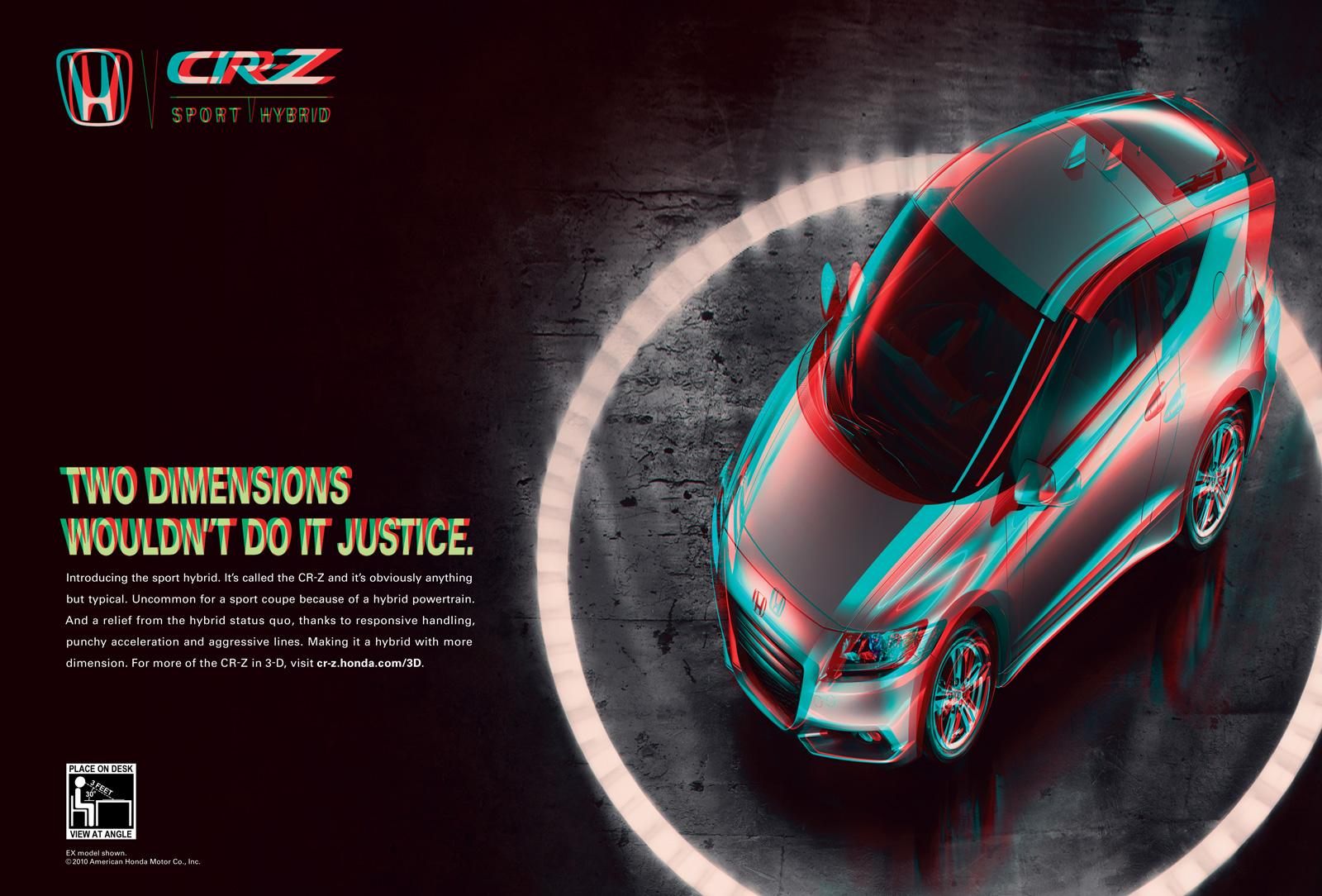 Honda Print Advert By RPA Two Dimensions Wouldnt Do It Justice