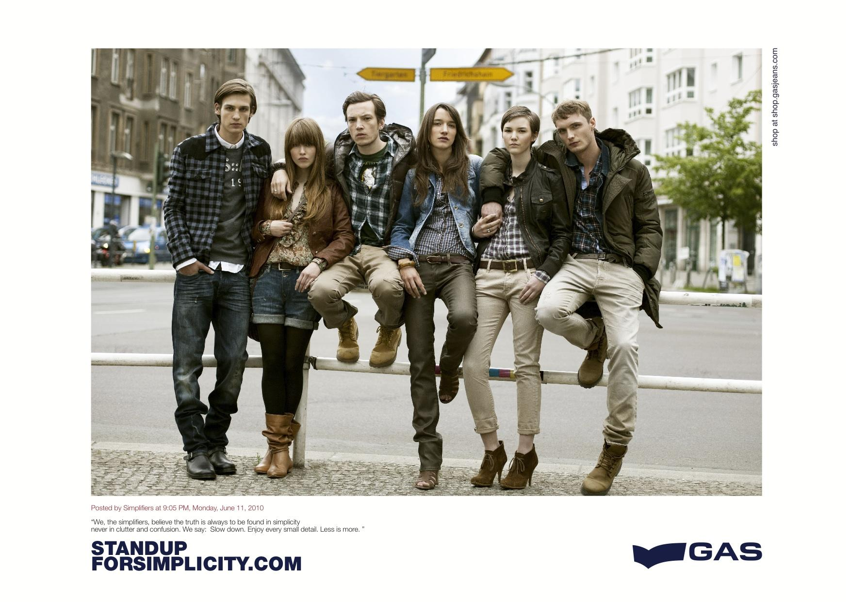 Gas Print Ad -  Stand Up for Simplicity, 3