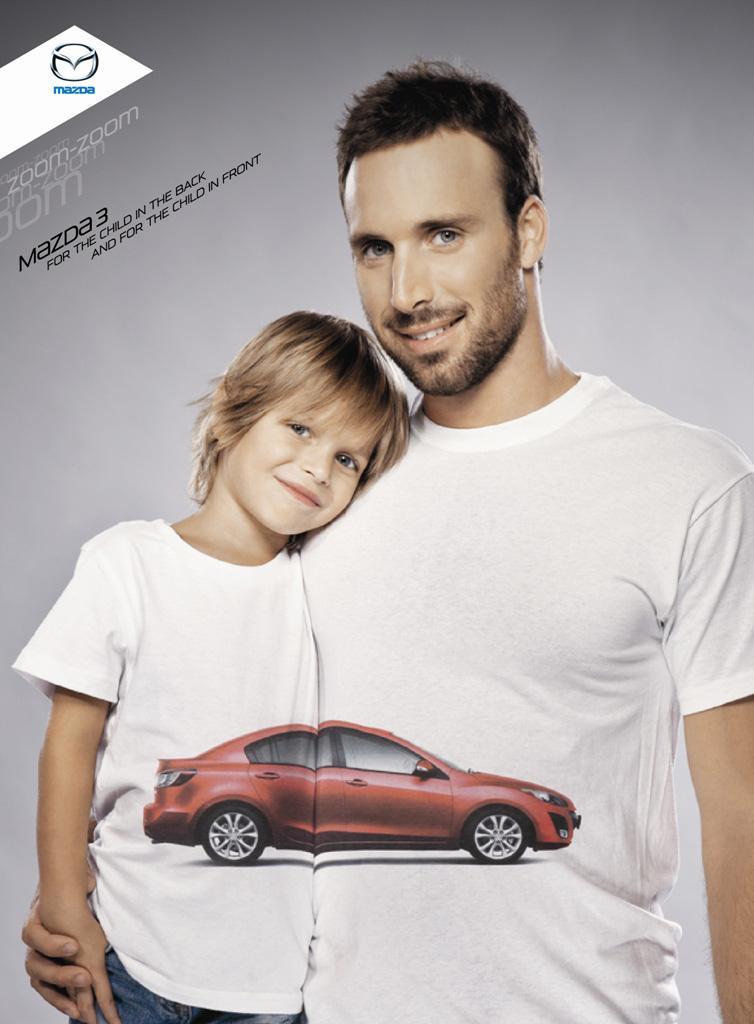 Mazda Print Ad -  Children, 3