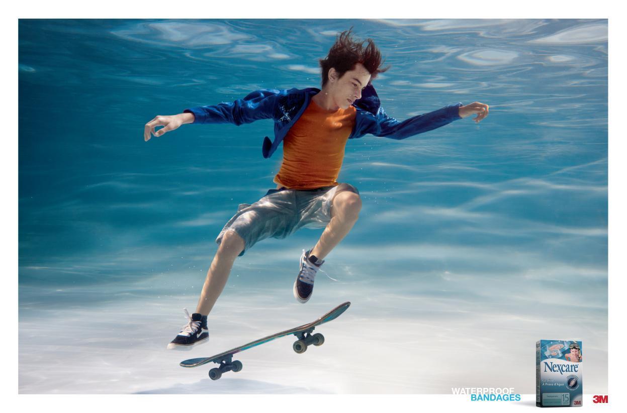 3M / Nexcare:  Skateboard