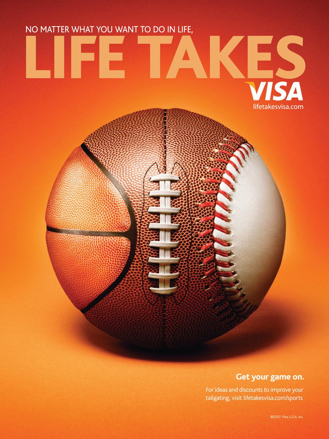 Life Takes Visa, 3 ball