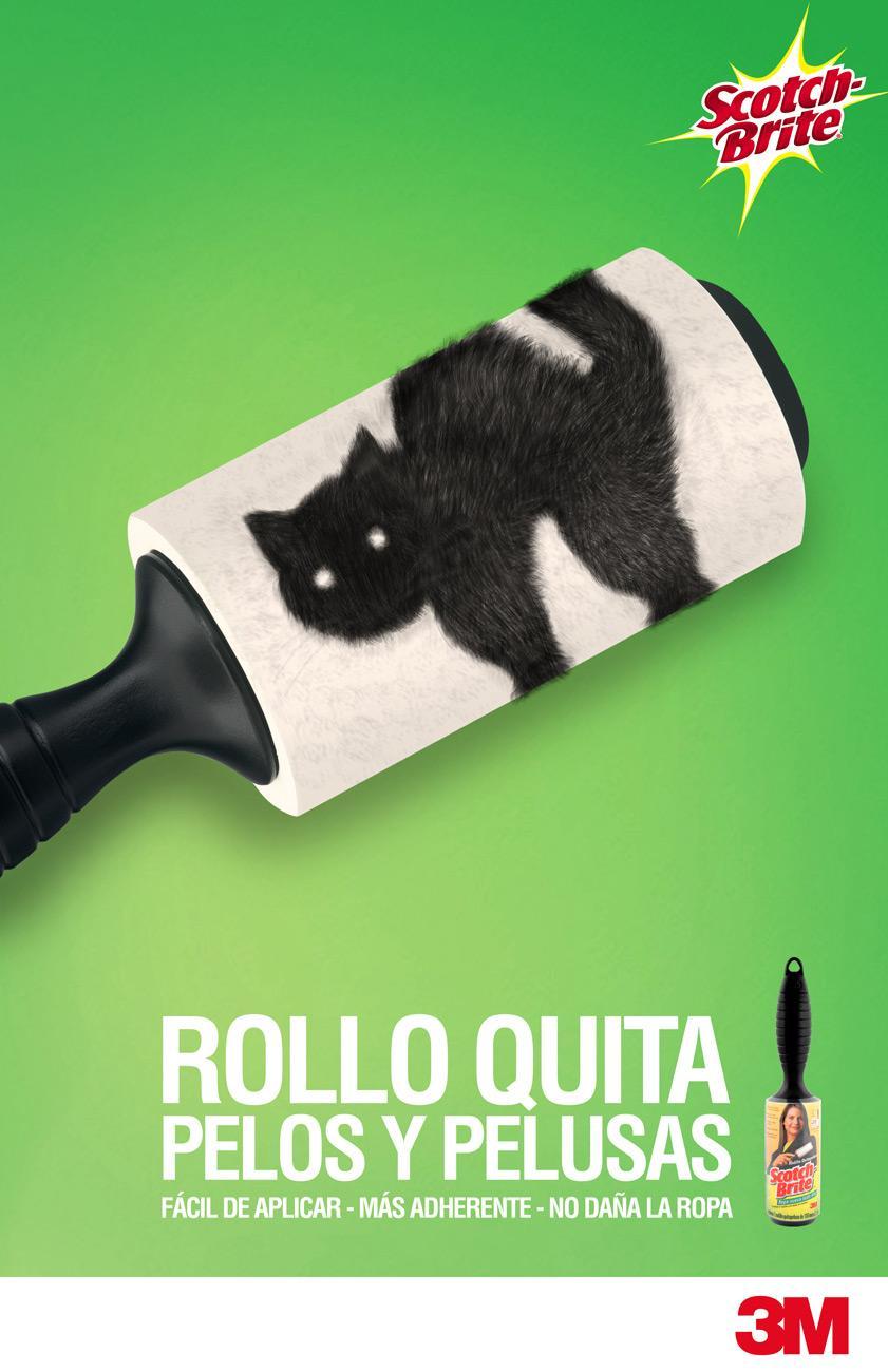 3M Print Ad -  Cat