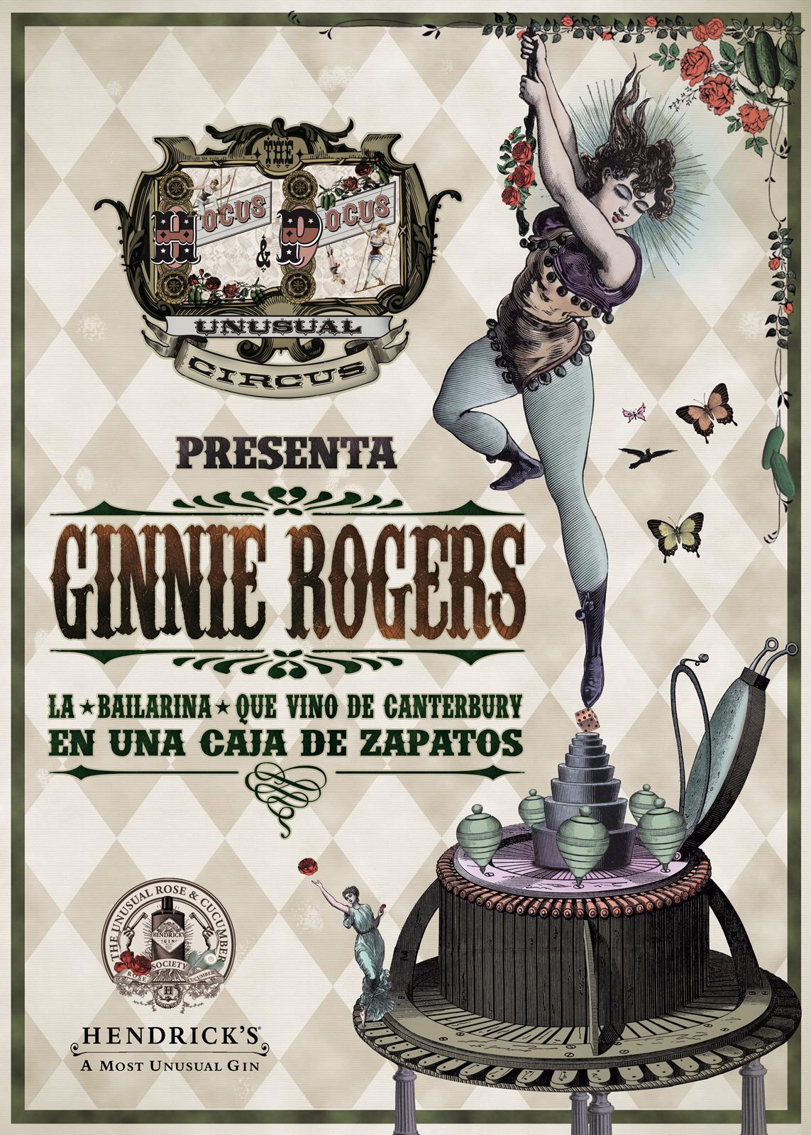 Hendrick's Gyn Print Ad -  Ginnie Rogers