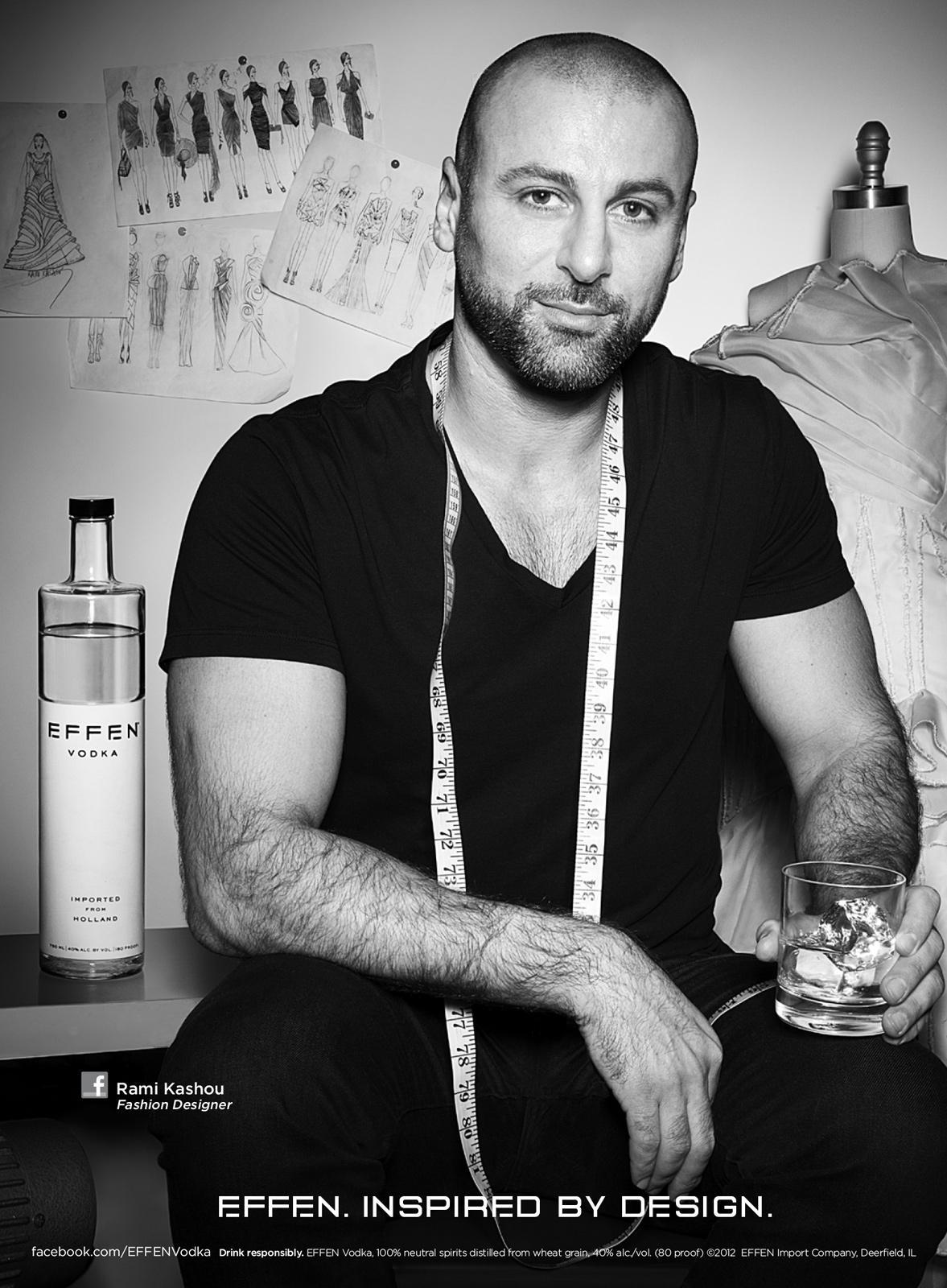 Effen Vodka Print Ad -  Inspired by design - Rami Kashou