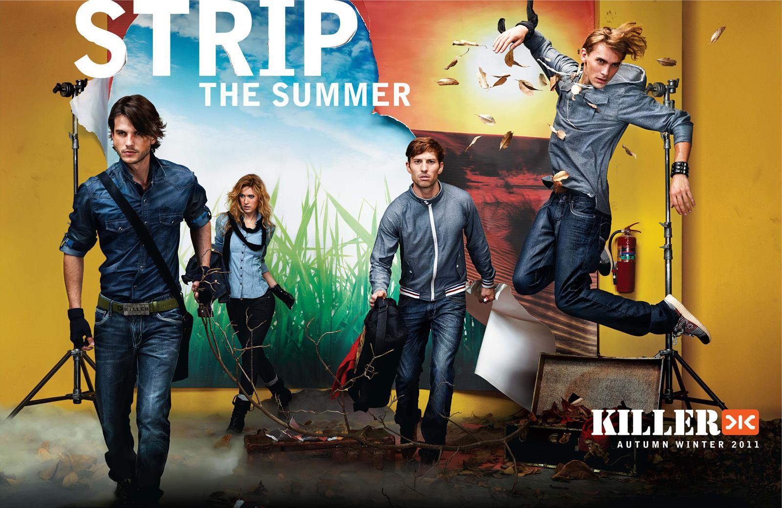 Killer Jeans Print Ad -  Strip, 4