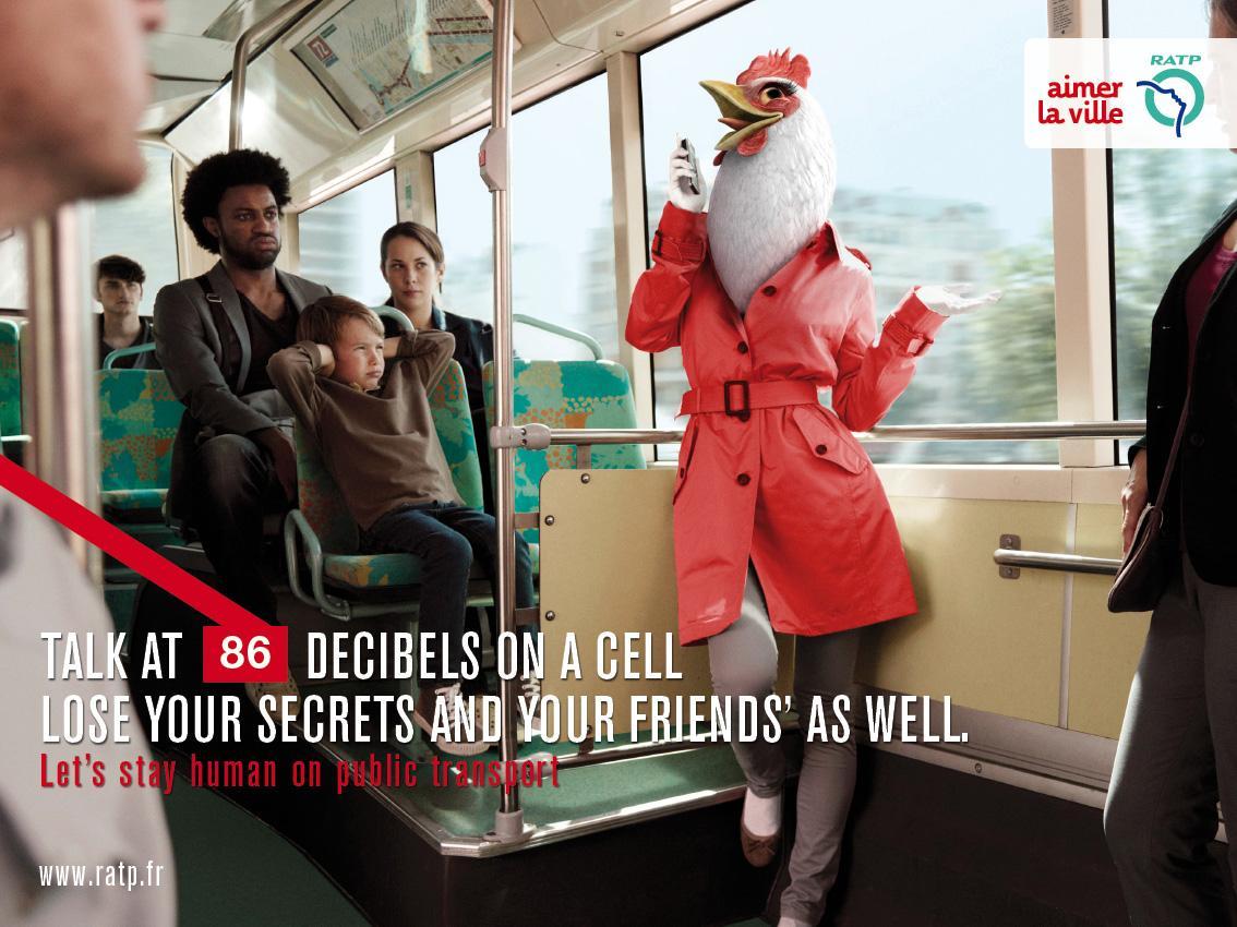 RATP Print Ad -  Chicken