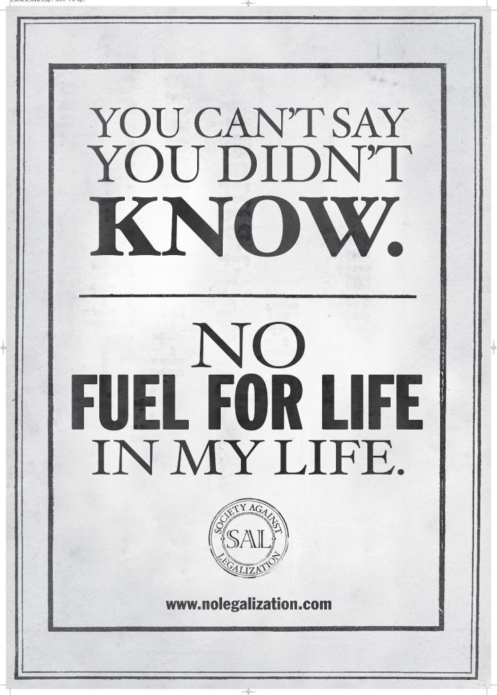 Fuel for life, Propaganda, 5
