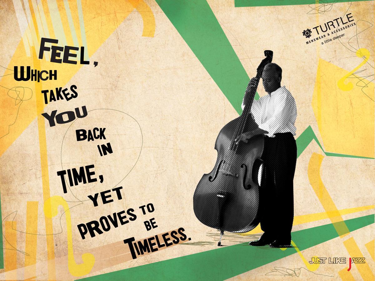 Turtle Menswear Print Ad -  Timeless